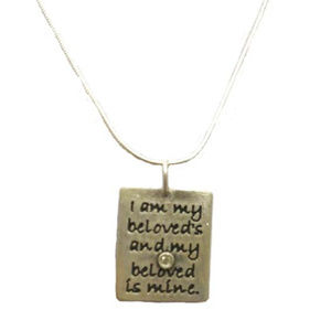 Ani L' Dodi (My Beloved) Sterling Silver Necklace